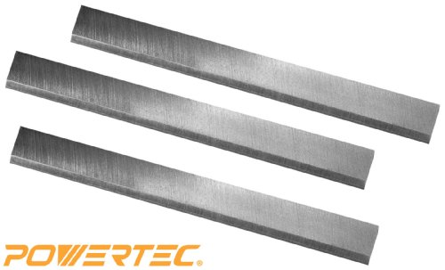 POWERTEC HSS Planer Blades for Grizzly 15 inch Planer G0453