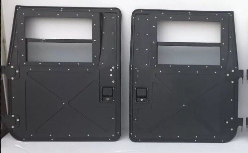 PAIR NEW FRONT HUMVEE M998 HMMWV X-DOORS - 2 FRONT for sale  Delivered anywhere in Canada