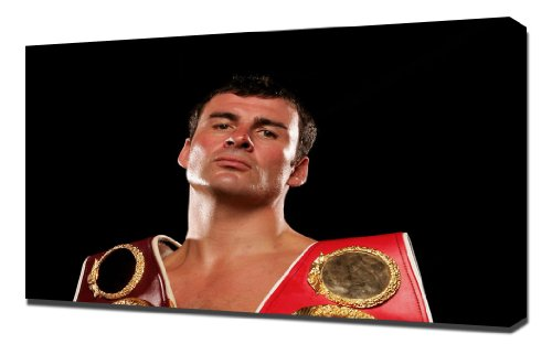Boxing Joe Calzaghe 1 - Canvas Art Print for sale  Delivered anywhere in USA