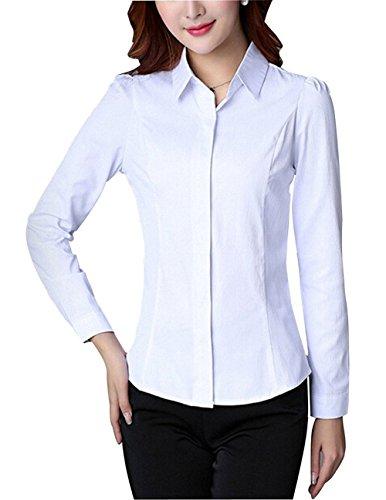Mcdslrgo - Camisas - para mujer blanco