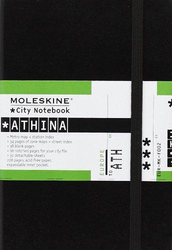 Moleskine City Notebook Athina