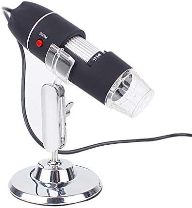 コンピュータ接続されたデジタルマイクロスコープ500Xタイムズズーム高解像度の携帯型電子拡大鏡のUSBは、写真を測定することができます