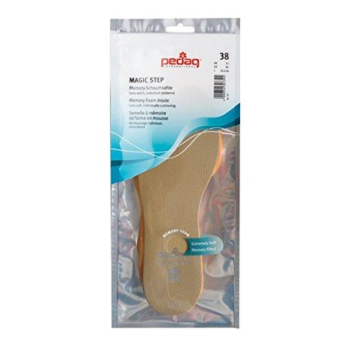Pedag Magic Step Memory Foam Insole, EU 38, Size 8L