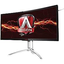 "AOC Agon AG352UCG6 35"" Curved Gaming Monitor, G-SYNC, (3440x1440), VA Panel, 120Hz, 4ms, DP, HDMI, USB 3.0, HA"