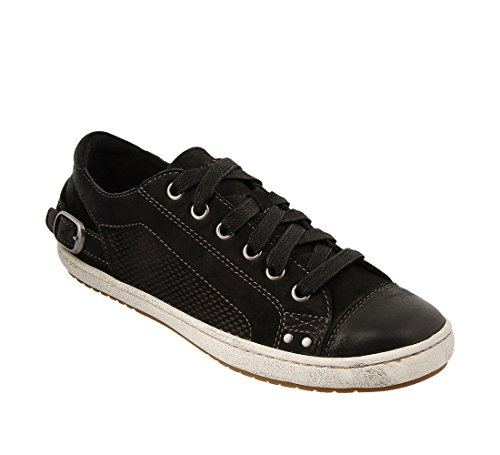 Taos Footwear Womens Capitol Black Oiled 6 5 B  M  Us