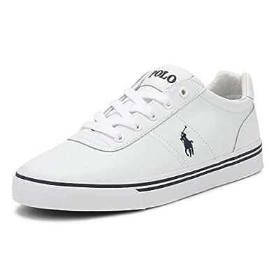 Polo Ralph Hanford, Men's Sneakers, White (White Multi), 43 EU