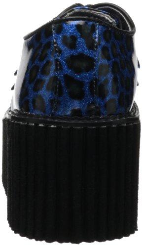 classiques Blue Demonia chaussures Cheetah Gltr femme Pat a5BqBC