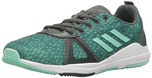 adidas Women's Arianna Cloudfoam Cross-Trainer Shoe Utility Ivy/Easy Green/Trace Green