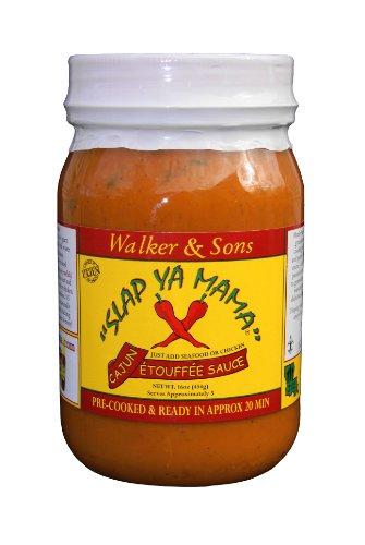 (Slap Ya Mama Cajun Etouffee Sauce, 16-Ounce Jars (Pack of)