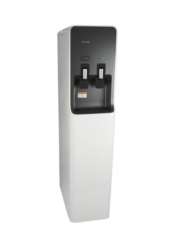 Norwei - Dispensador de agua super slim design, con 3 niveles de filtrado, directo a la red de agua. dos grifos caliente y fria. color blanco: Amazon.es: ...