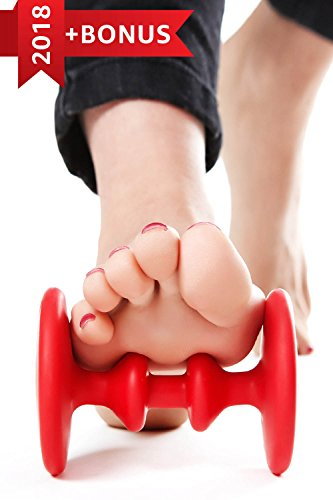 Foot Roller for Plantar Fasciitis Therapy – Foot Massage Roller – Top-rated Foot Massager – Relief for Heel Spurs & Foot Arch Pain – Plantar Fasciitis Roller with Bonus Hand Ball Massagers