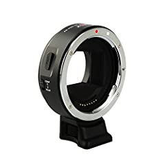 Viltrox EF-NEX IV lens adapter is the 4th generation electronic adapter for Canon EF or EF-S lenses to Sony A9, A7, A6XXX and NEX series cameras. Two improved features are added on EF-NEX IV: - Integrated USB port for adapter firmware update ...