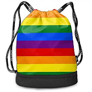 Amazon.com: Ds9usf Gay Pride - Bolsas de regalo con cordón y ...