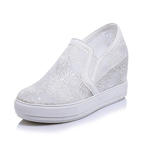 Las mujeres transpirables malla de sandalias/Zapatos de alta/zapatos casuales/Zapatos de princesa A