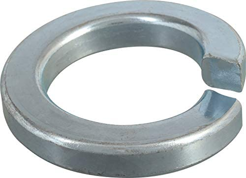 "1//4/"" Aluminum Split Ring Lock Washers 100 Pieces Nut /& Bolt Spring Lock Washer"