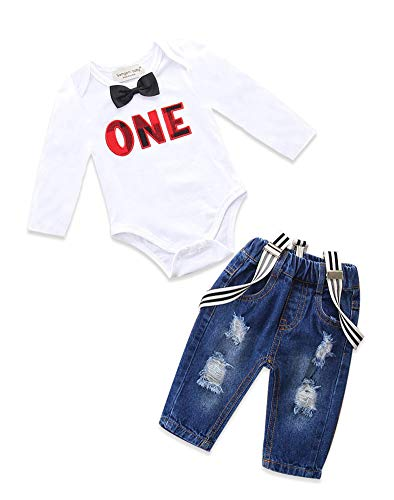 Eighties Outfit Ideas - Toddler Baby Boy Clothes Set Bowtie