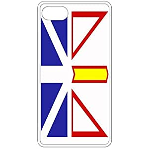 Newfoundland And Labrador Flag - White Apple Iphone 5 5s Cell Phone Case - Cover