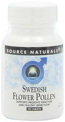 Tablets Extract (Source Naturals Swedish Flower Pollen Extract Supplement - 90 Tablets (Pack of 2))