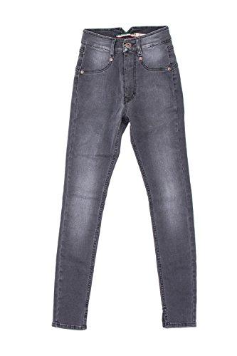 Please Vita Jeans Grigio Skinny P58 Donna Alta vU6Uq