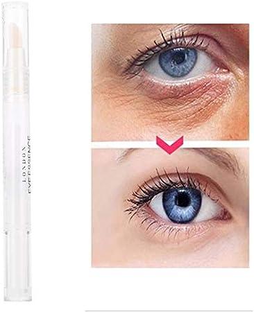 Sérum refrescante de ácido hialurónico para contorno de ojos, crema antienvejecimiento para ojeras oscuras, hinchazón y arrugas, 5 ml
