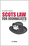 Scots Law for Journalists, 8th edition
