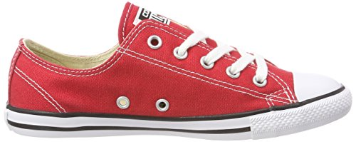da Dainty Sneakers Rouge Red Donna As Ox Converse IwZq5tBxZ