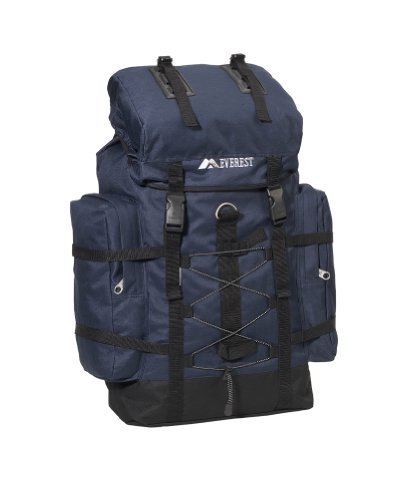 24″ Hiking Backpack Color: Navy, Outdoor Stuffs