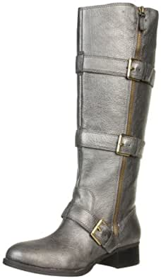 Boutique 9 Women's Dacia Boot,Dark Silver,6 M US