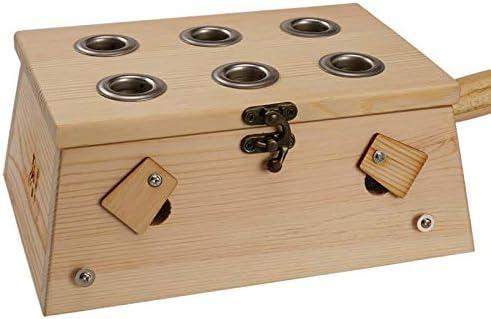 Caja de madera sólida moxibustión moxibustión caja for mecanismos de madera Moxa quemador acupuntura masaje en los puntos de calidad superior (Color : E): Amazon.es: Salud y cuidado personal