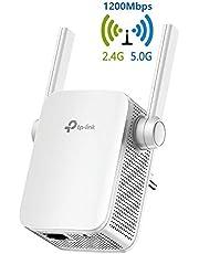 TP-Link Repetidor WiFi AC1200Mbps Extensor de Red WiFi Amplificador Enrutador Inalámbrico RE305 (Doble banda 2.4GHz 5G 2 antenas externas)