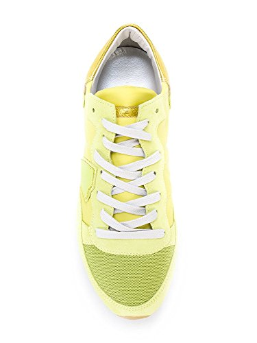 Philippe Model Damen Sneaker Gelb Gelb
