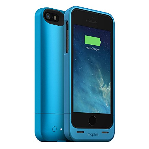- mophie juice pack Helium for iPhone 5/5s/5se (1,500mAh) - Blue