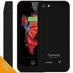 Amazon.com: iPhone 5C / SE Battery Case, Alpatronix BX120plus 2400mAh