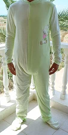 Amazon.com  G9 Unisex Adult Baby Lady Bunny Onesie-bodysuit 951a4a25801e