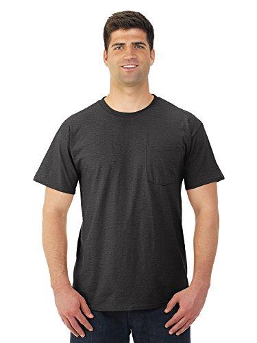 5.6 oz., 50/50 Heavyweight Blend™ Pocket T-Shirt