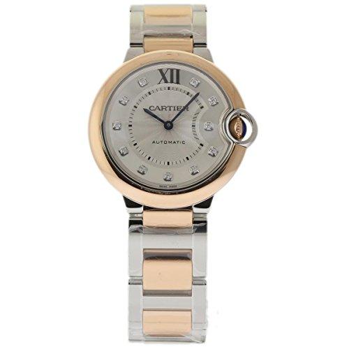 Cartier BALLON BLEU 36MM swiss-automatic womens Watch W3BB0007 (Certified Pre-owned)