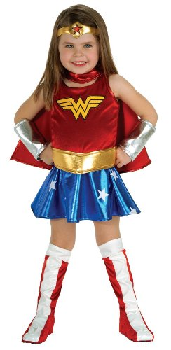 Infant Girl Superhero Costumes (DC Super Heroes Child's Wonder Woman Costume, Toddler)