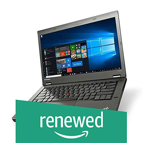 "(Renewed) Lenovo Thinkpad T440P (CORE I5 4TH GEN/8GB/500GB/WEBCAM/14"" Ubuntu (Black)"