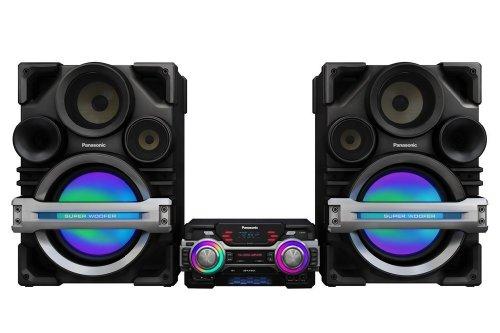 Panasonic 2300 Watt CD Mega Bass Stereo Audio - Panasonic Micro Music System