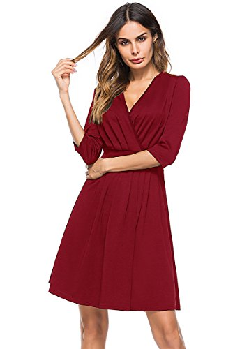 chic wrap dress - 6