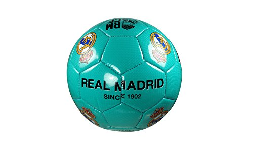 Real Madrid C.F. Authentic Official Licensed Soccer Ball Size 4 -02-1 (Authentic Ball)