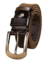 Womens Real Leather Belt Waist Belt for Jeans Multiple Colors and All Sizes