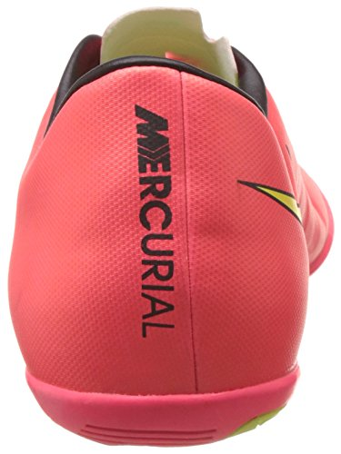 Nike Mercurial Victory V Ic, Men's Football Boots Red - Rot (Hypr Punch/Mtlc Gld Cn-blk-vlt 690)