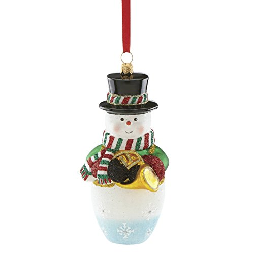Reed & Barton Blown Glass Snowman - Barton Blown Glass Ornaments