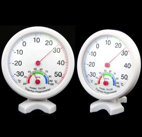 Large Dial Indoor Hygrometer Humidity Thermometer Temp Temperature Meter TH108