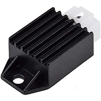 Amazon.com: GOOFIT 4 Pin Voltage Regulator Rectifier for GY6 ... on