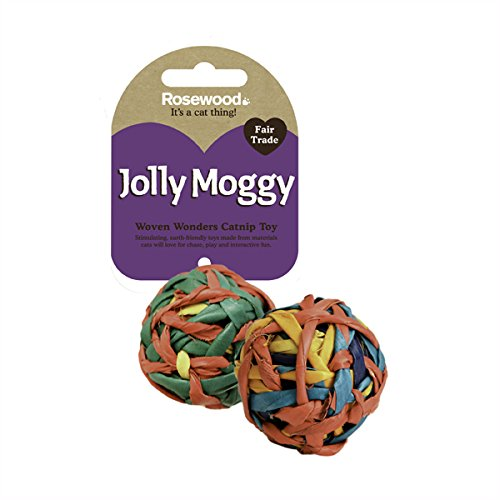Woven Wonders String Balls Cat Toy by Rosewood Pet