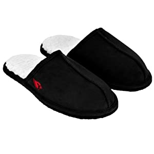 Amazon.com : NFL Football Mens High End Open Back Slide Slippers ...
