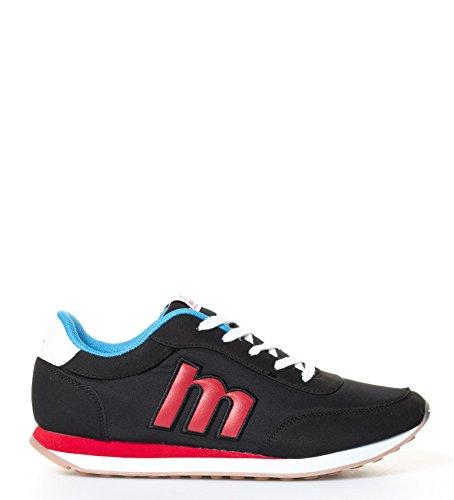 Mustang Zapatillas Funner Negro, Rojo, Azul 82600
