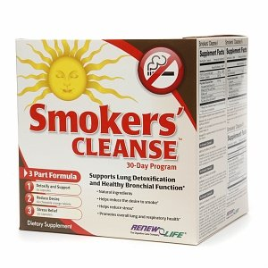 ReNew Life Smokers' Cleanse, 30 Day Program 1 set
